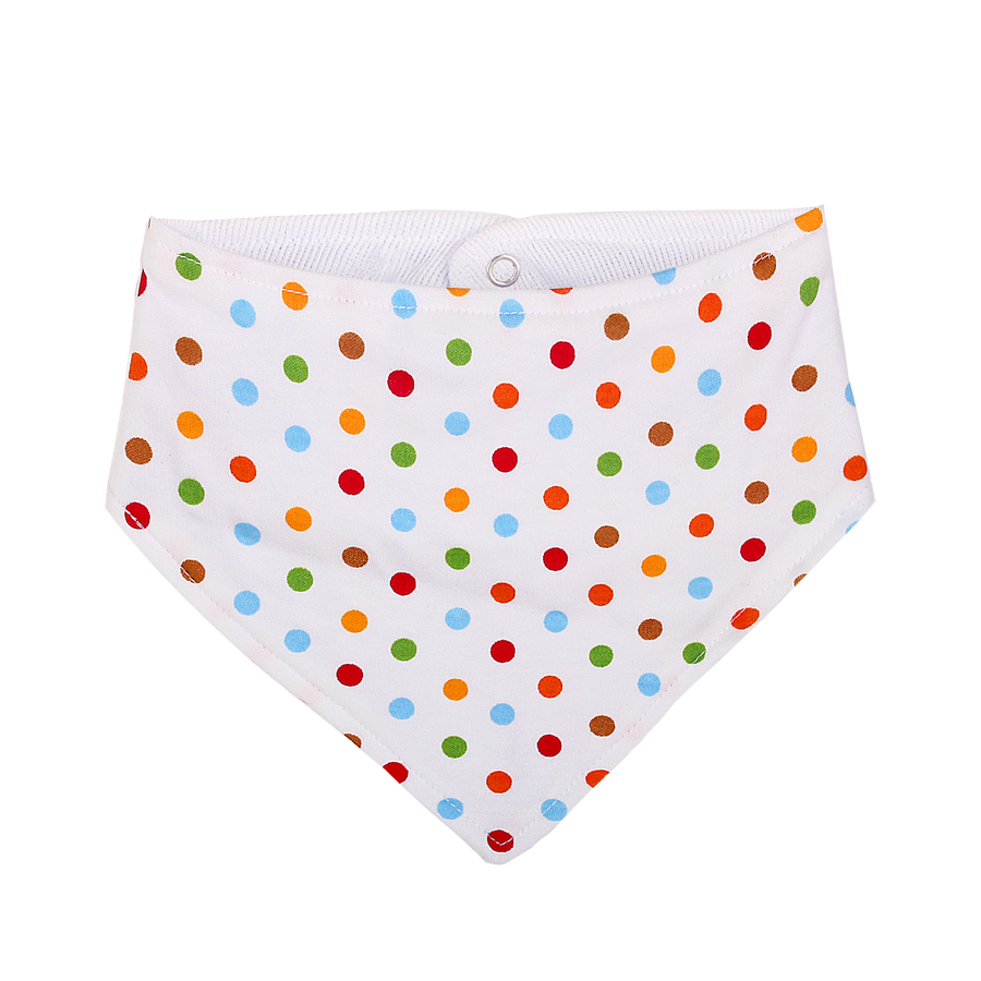 Organic Baby Bib in Pastel Colour