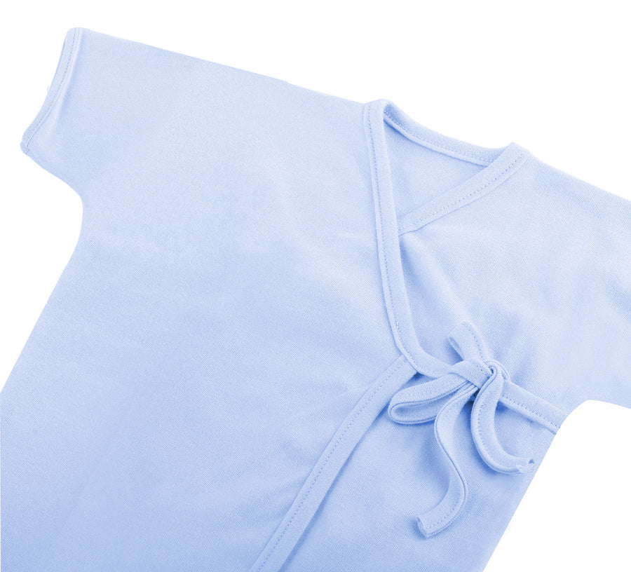 Kimono Top Short Sleeve in Pastel Colour