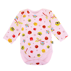 Bodysuit Long Sleeve with Reversible Mitten Cutie Owl