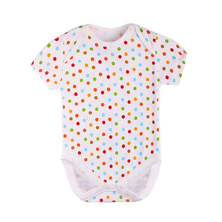 Bodysuit Short Sleeve Polka Dot