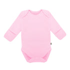 Bodysuit Long Sleeve with Reversible Mitten Pastel