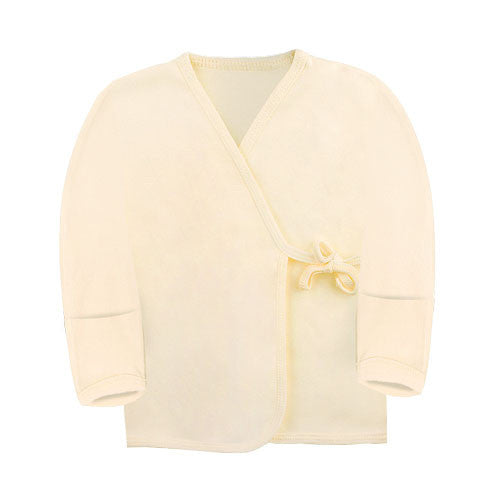 Kimono Top Long Sleeve with Reversible Mitten in Pastel