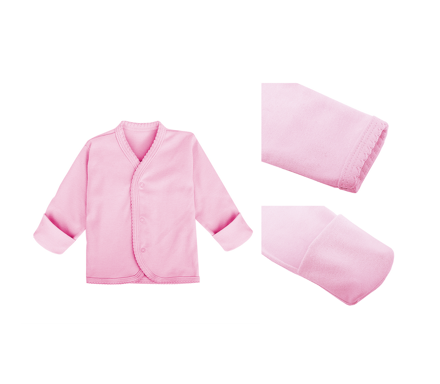 3pc Snap Button Top Long Sleeve for $35 in assorted colour and design