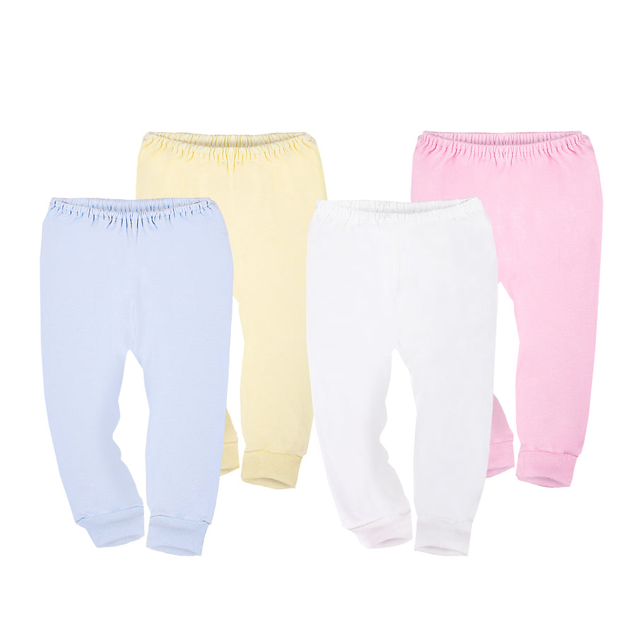 Long Pant with Open Feet in Pastel Colour