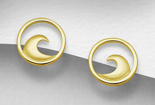 Golden Surf Earrings - Reel Nauti Outfitters