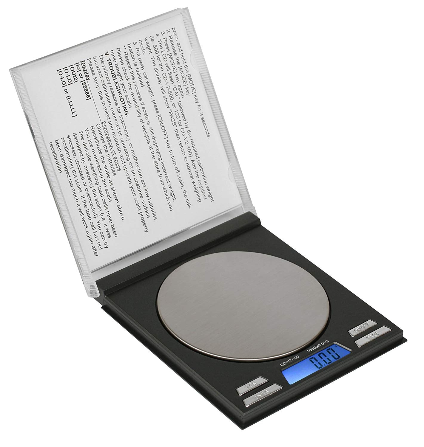 On Balance Single CD Disguise Scale SS-100 (100g x 0.01g)