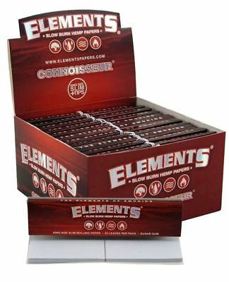 Elements RED Connoisseur KS Slim Paper with Tips