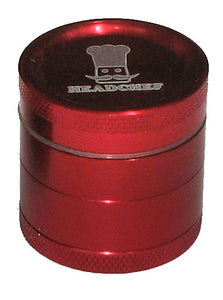 Cheeky One 30mm 4 part metal grinder RED