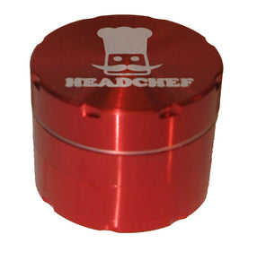 Cheeky One 50mm 4 part Razor Grinder - RED