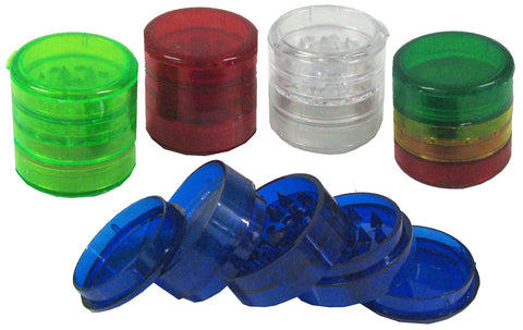 Coloured Acrylic 4 Part Grinder 45mm