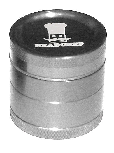 Cheeky One 30mm 4 part metal grinder SILVER