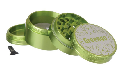 GREENGO Grinder 4 part 50mm Green