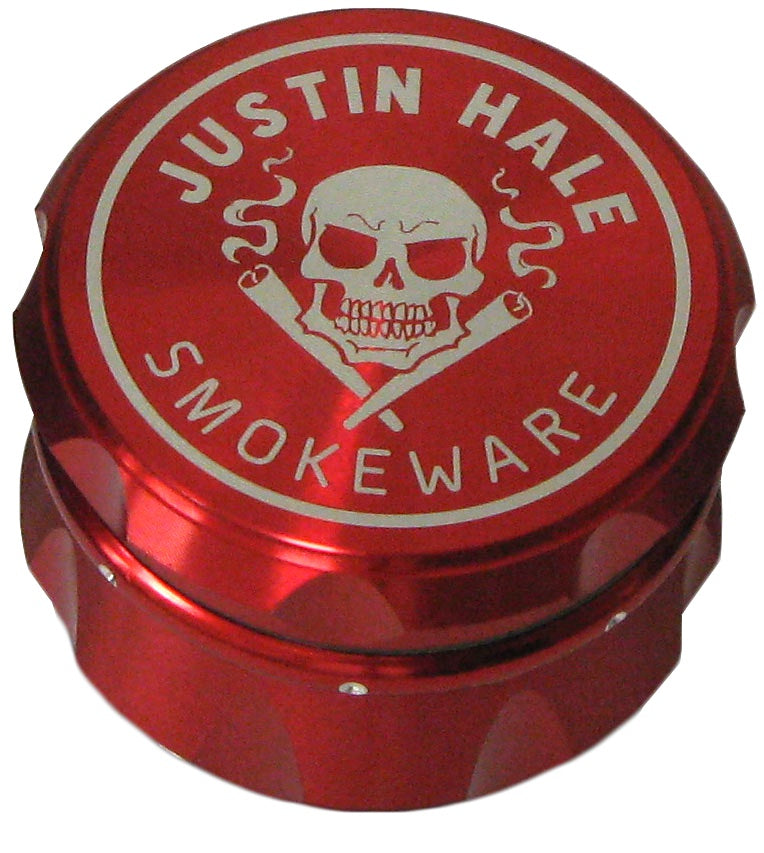 Justin Hale 4-part 50mm GRIPPA Grinder RED