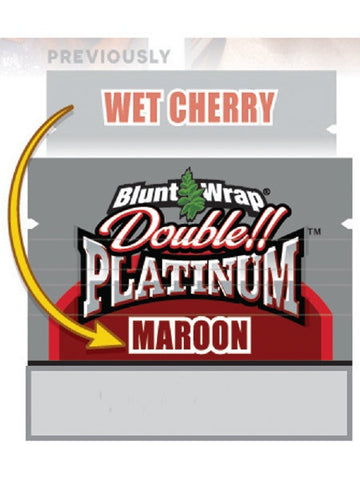 MAROON Double Platinum BLUNTS (Previously Wet Cherry)