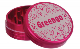 GREENGO Grinder 2 part 40mm Pink