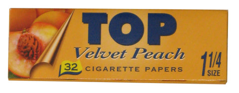TOP Velvet Peach Flavoured Papers