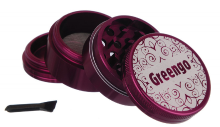 GREENGO Grinder 4 part 50mm Purple