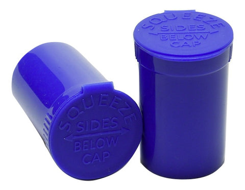 BLUE OPAQUE Pop Top Bottle 6 Dram (1gm)