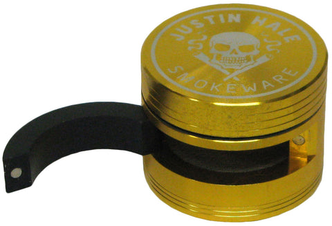 Justin Hale 3-part 61mm THE DOOR Grinder GOLD