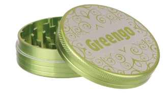 GREENGO Grinder 2 part 30mm Green