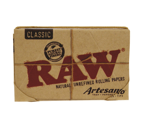 Raw ARTESANO Kingsize Slim Papers & Tips