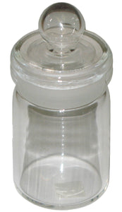 MEDIUM Size Glass Jar 94mm H x 35mm