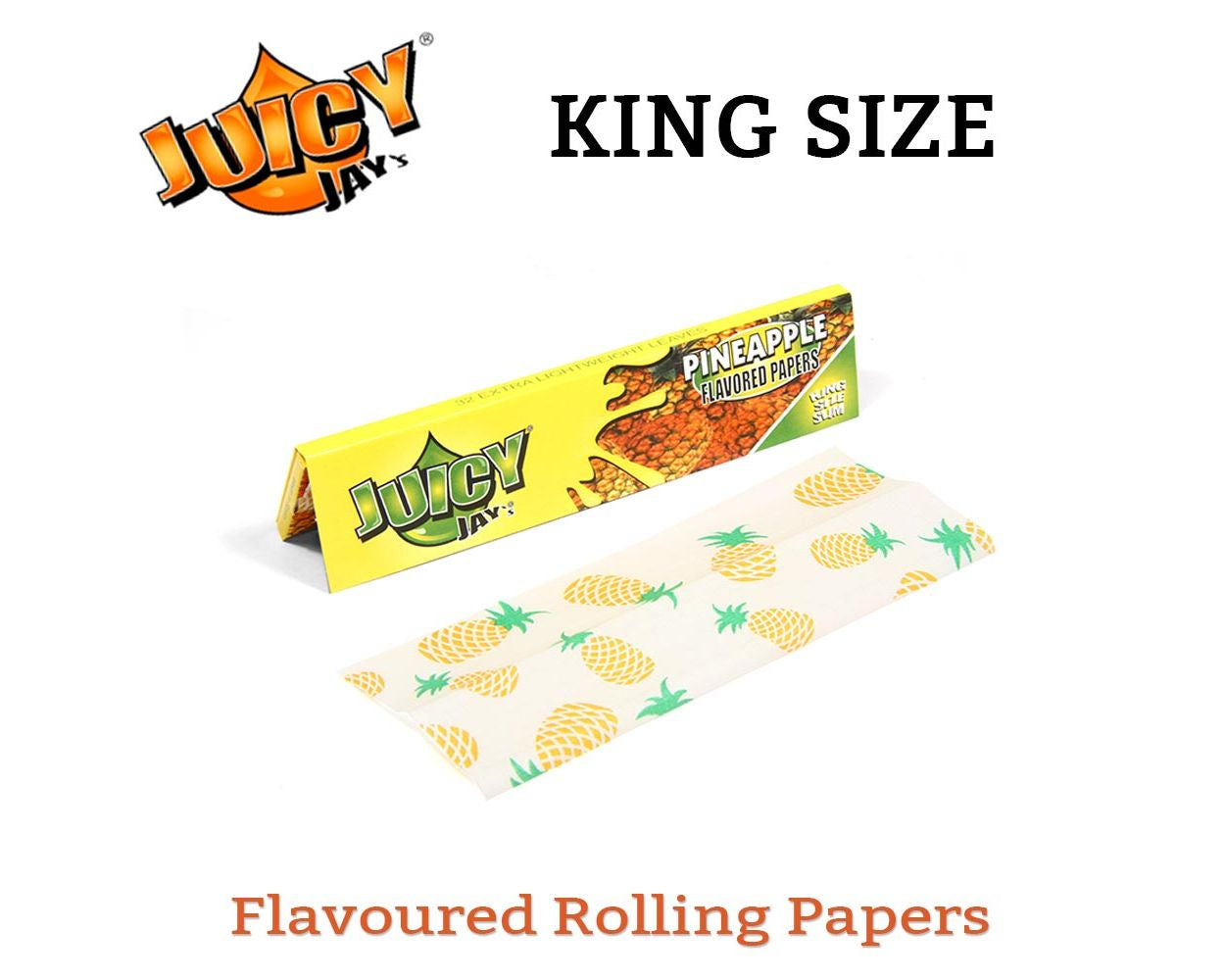 Pineapple Kingsize Papers