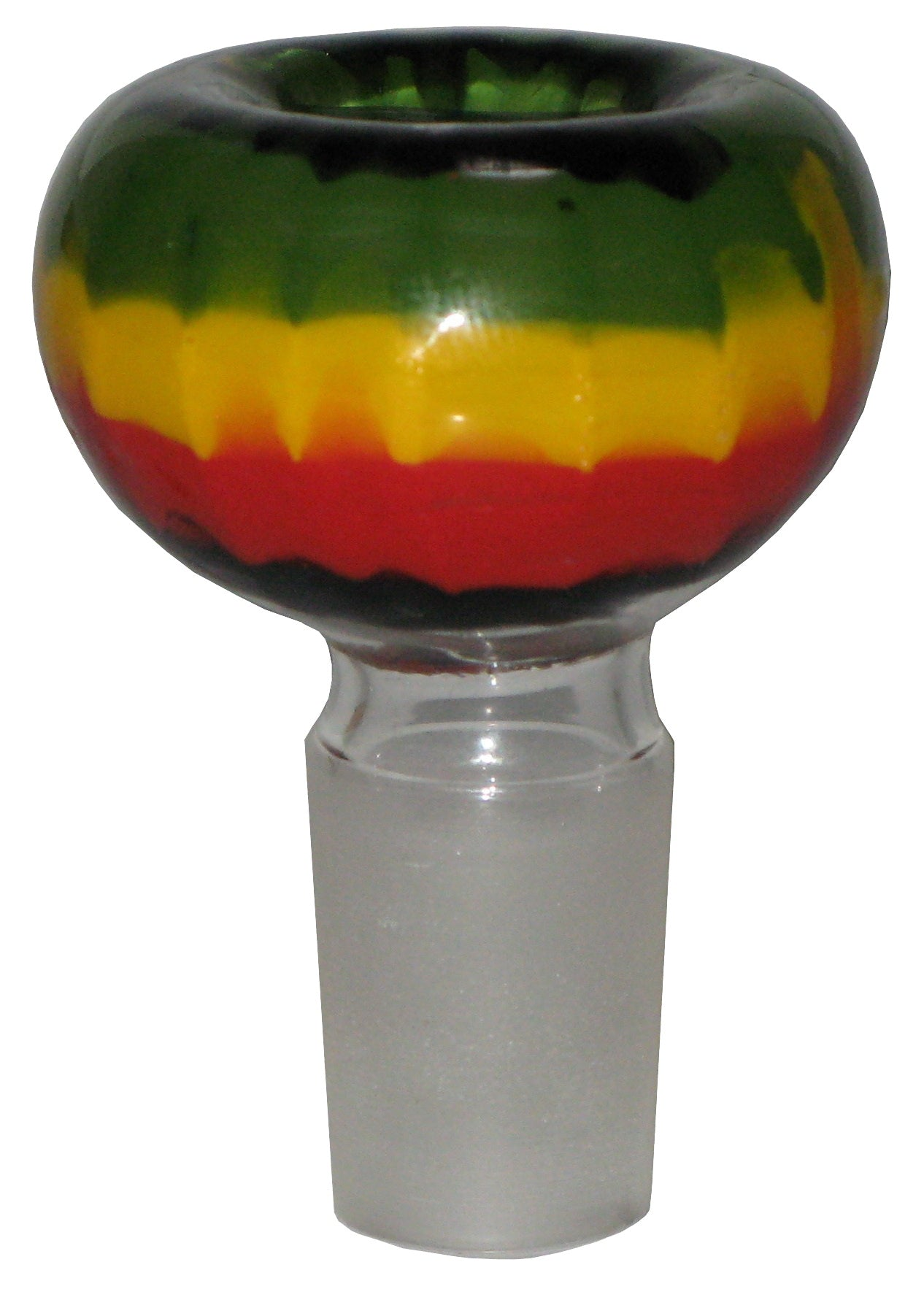 Glass Bowl Rasta 14.5mm Grind