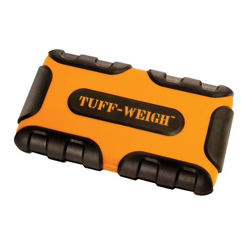 Tuff-Weigh (100g x 0.01g) Impact Resistant Scale with Rubber Grips - ORANGE