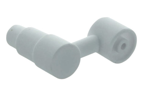 Ceramic Nail for Male joints with offset bowl (14mm & 19mm)