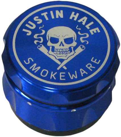 Justin Hale 4-part 50mm GRIPPA Grinder BLUE