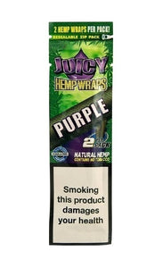 Juicy Jay HEMP Blunt Wraps PURPLE