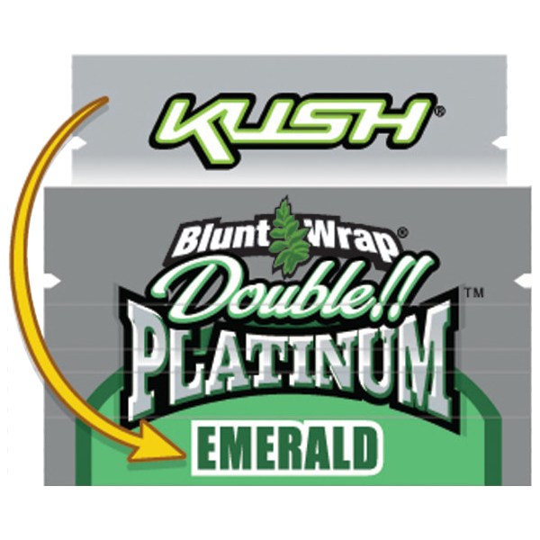 EMERALD Double Platinum BLUNTS(Previously Kush Burst)