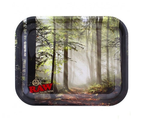 Raw FOREST Metal Tray (27.5cm x 33cm)