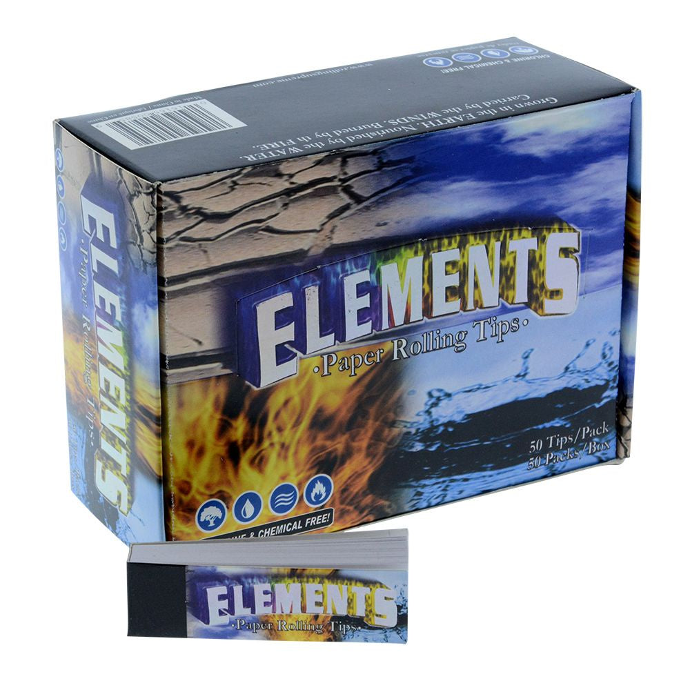 Elements Un-perforated Tips (Box of 50 Packs)