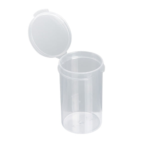 CLEAR Pop Top Bottle 6 Dram (1gm)