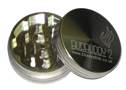 CheekyOne Bud Buddy2 2 part metal grinder 50mm