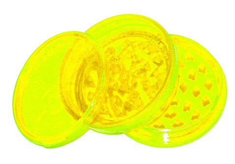 NEON YELLOW Original Weed World Grinder 60mm