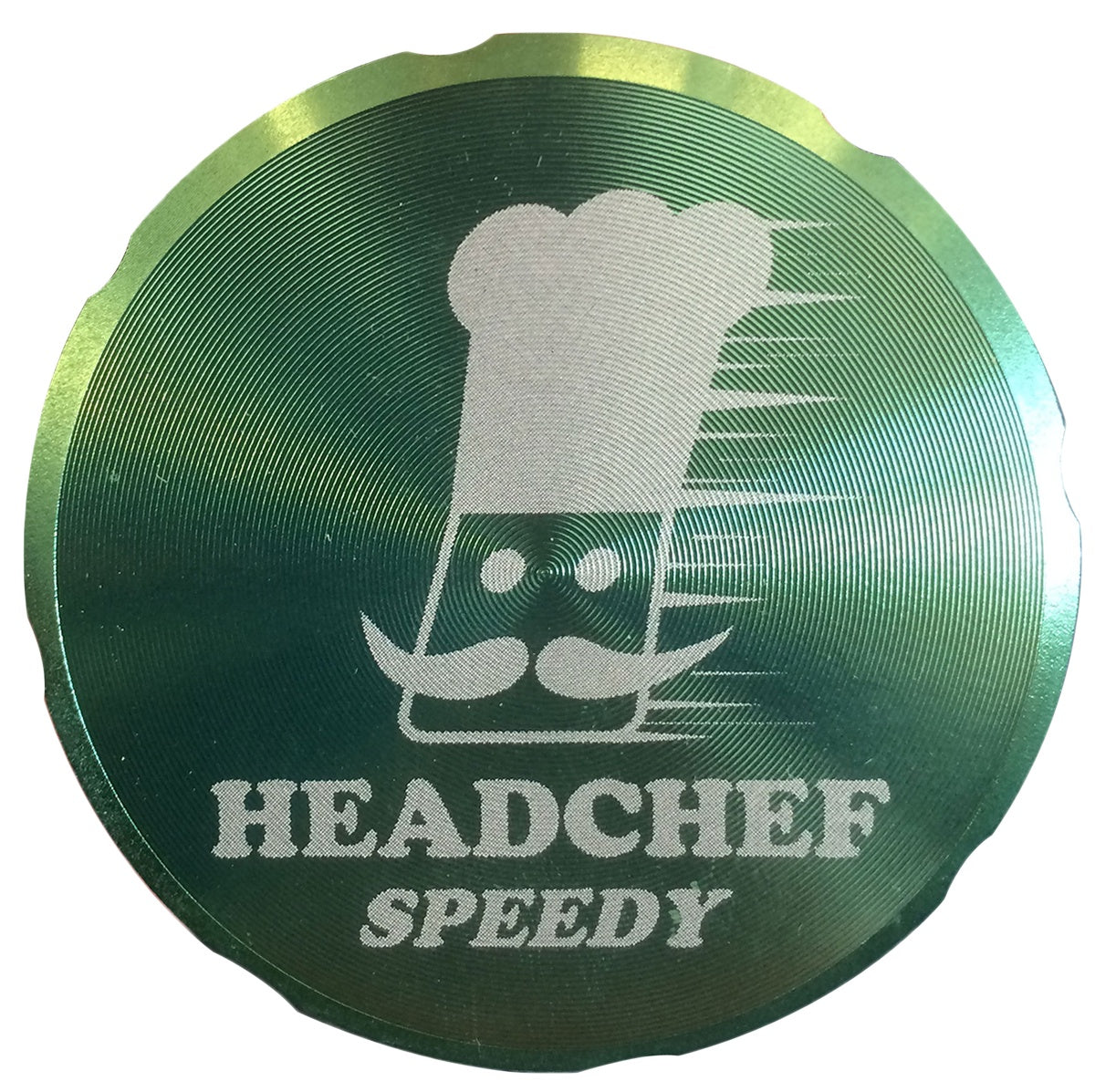 Cheeky One SPEEDY 50mm 4 Part Grinder - GREEN