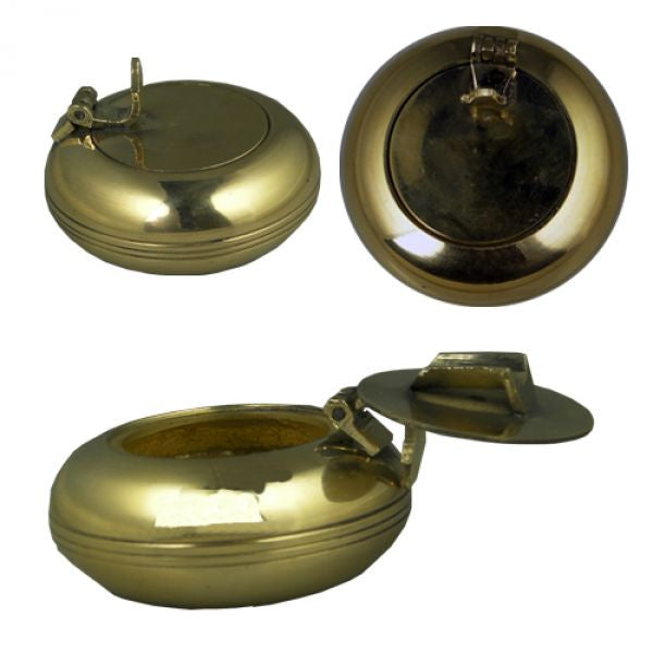 Pocket Ashtray Brass
