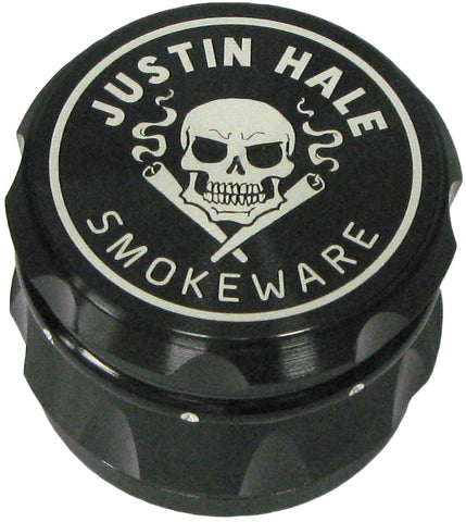 Justin Hale 4-part 50mm GRIPPA Grinder BLACK