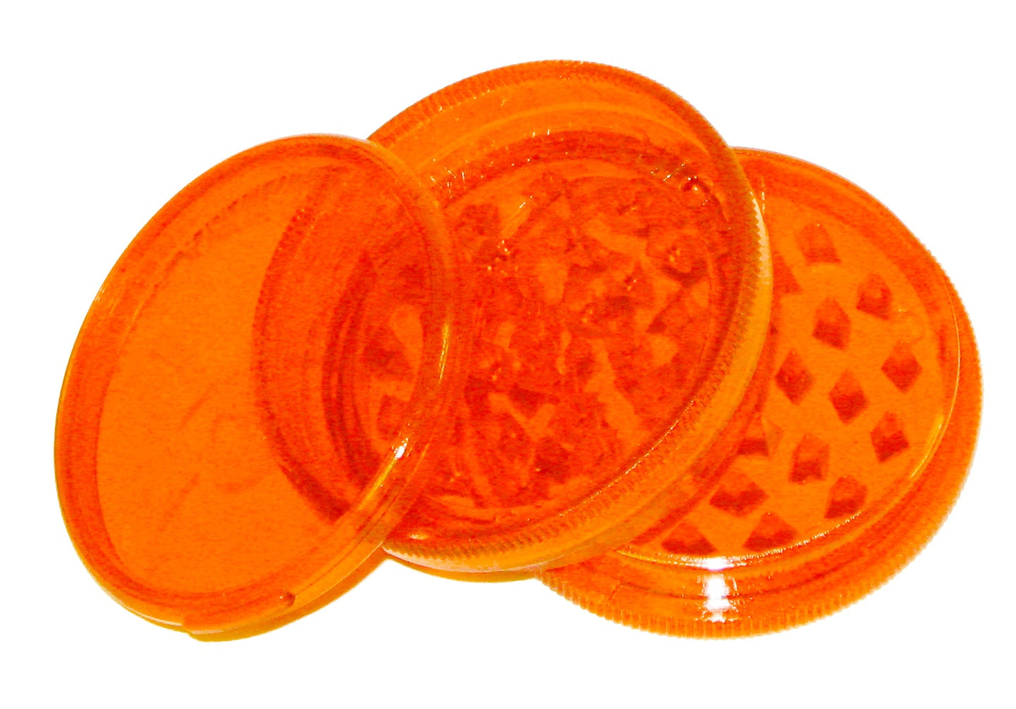 NEON ORANGE Original Weed World Grinder 60mm
