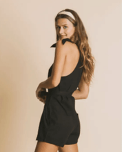 Load image into Gallery viewer, Black Lilly Jumpsuit