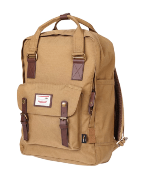 Macaroon Camel Large Cordura  Backpack
