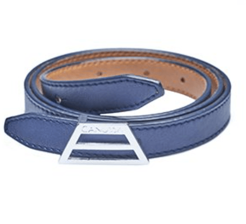 ADAPT Vegan Belt – Reversible Camel/Blue