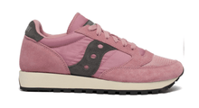 Load image into Gallery viewer, Jazz Vintage Suede Logo Pink / Gray Women