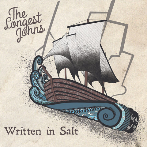 Written in Salt - CD