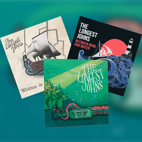 Three CDs Albums Bundle