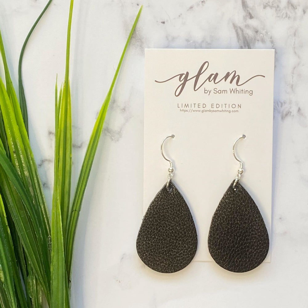 MINI // Leather Earrings