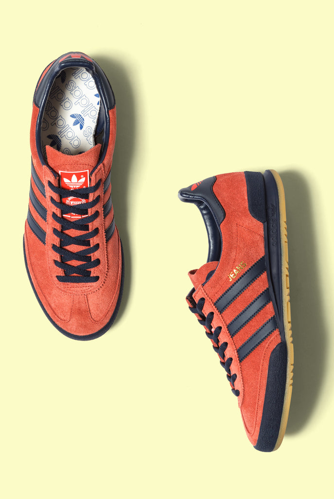 newest collection f4a18 4d8d1 The red adidas Jeans MKII is available now.